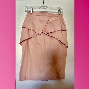 NWT ASOS pink skirt work or play, amazing detail 6
